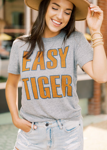 EASY TIGER GRAPHIC TEE BY CHASER BRAND