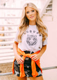 AUBURN TIGER HEAD TEE BY SCARLET & GOLD