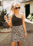 KEEP IT UP LEOPARD SKIRT