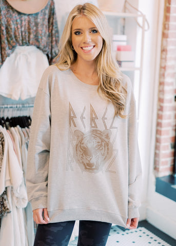 WILD REBEL TIGER SWEATSHIRT
