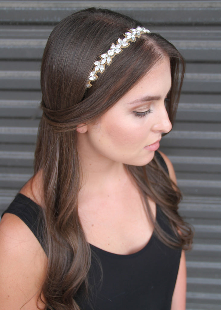Peace, Love, and Olive Branches Headband
