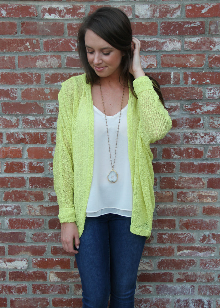 READY OR KNIT CARDIGAN