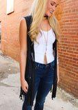 BACK AGAIN FRINGE VEST