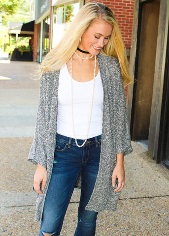 ON POINT CARDIGAN