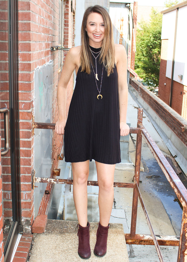 COOL GIRL RIB DRESS