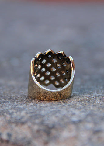 WOVEN WAYS RING