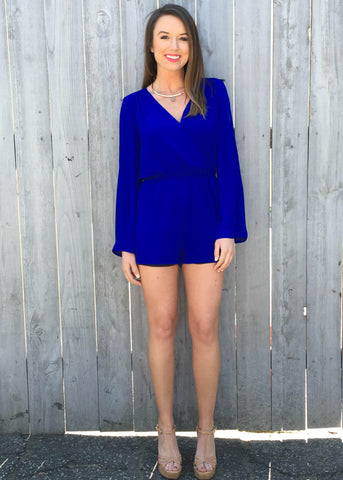 ROYAL FLUSH ROMPER