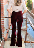 SO SEVENTIES VELVET PANTS