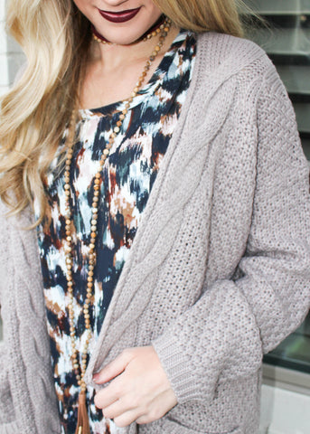 ALWAYS COOL CARDIGAN
