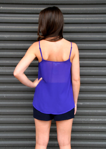 PLUM ROYAL TOP
