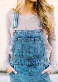 WANT TO BE DENIM JUMPER