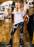 TOO COOL TIE DYE FLARES