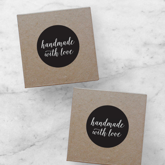 Printable Stickers | Handmade With Love, Amelia