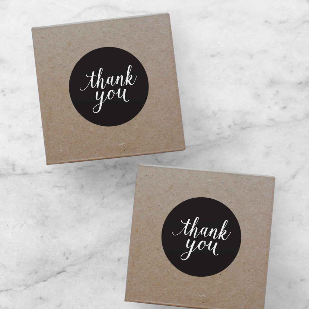 Thank You Stickers | Amelia