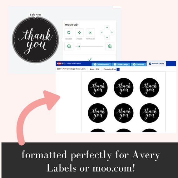 Printable Stickers | Happy Mail, Amelia