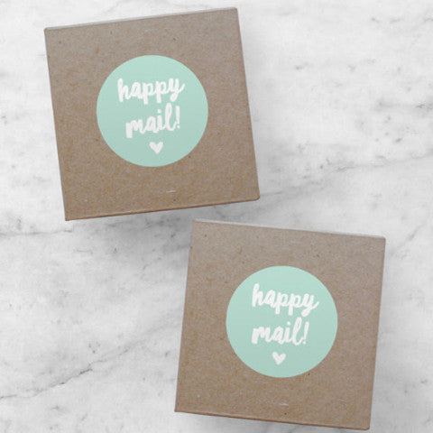 Printable Stickers | Happy Mail, Adelie