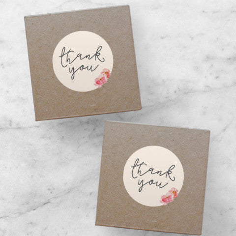 Printable Stickers | Thank You, Sophia