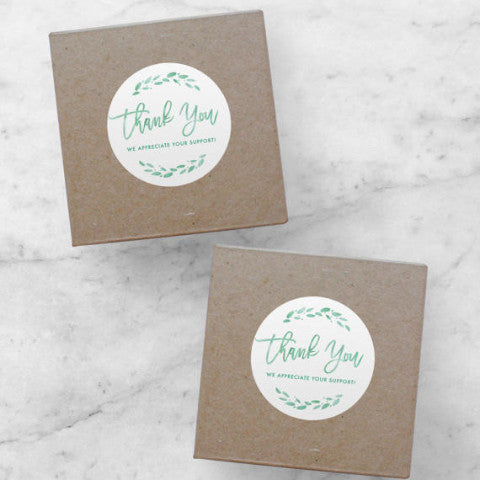 Printable Stickers | Thank You, Lola