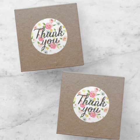 Printable Stickers | Thank You, Ava