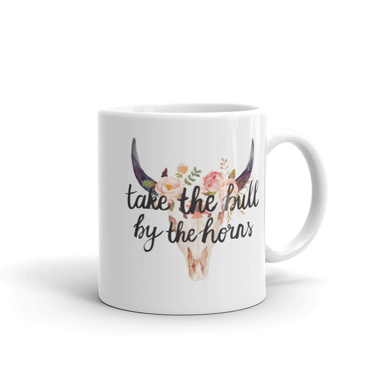 Take The Bull By The Horns Mug