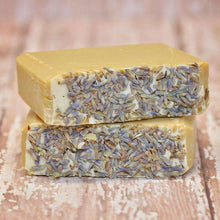Load image into Gallery viewer, Lavender Eucalyptus Goat Milk Soap