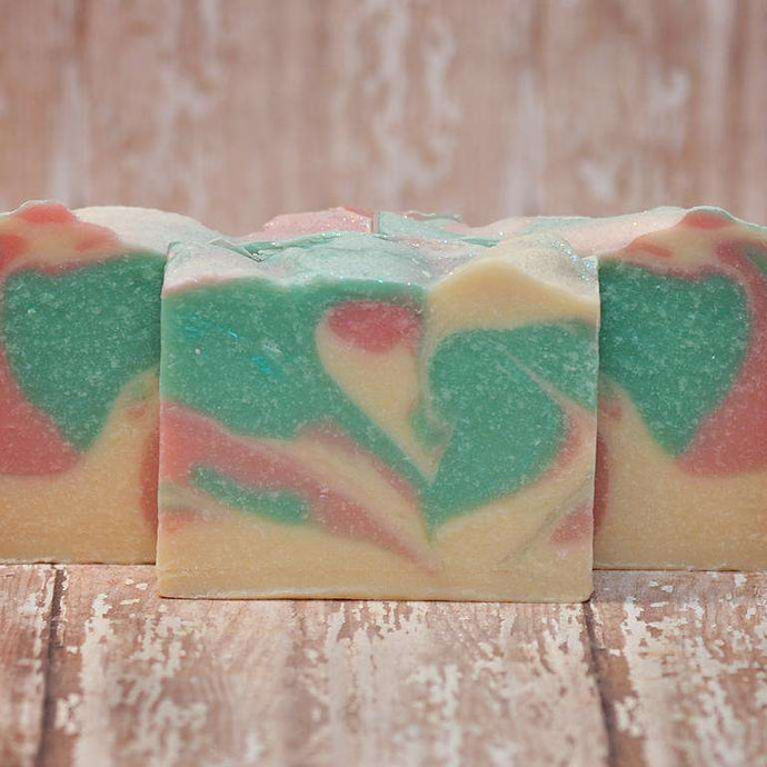 Crisp Apple Rose Goat Milk Soap