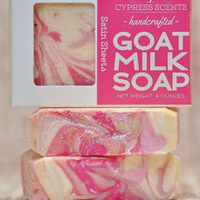 Load image into Gallery viewer, Satin Sheets Goat Milk Soap