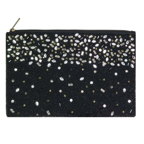 BW026: Jewel Clutch, Black
