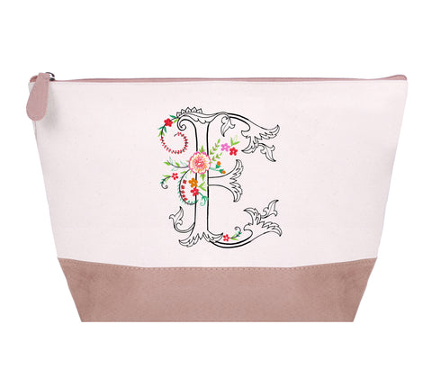 FMCP00E: Oasis Cosmetic Pouch,  Letter - E