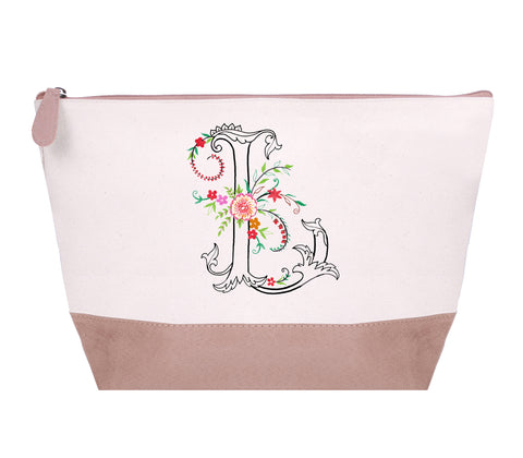 FMCP00L: Oasis Cosmetic Pouch,  Letter - L