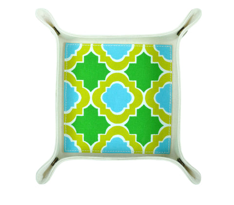 HA031: Mosaic Valet Tray - Green