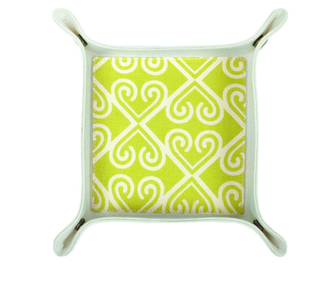 HA034: Taj Valet Tray - Green