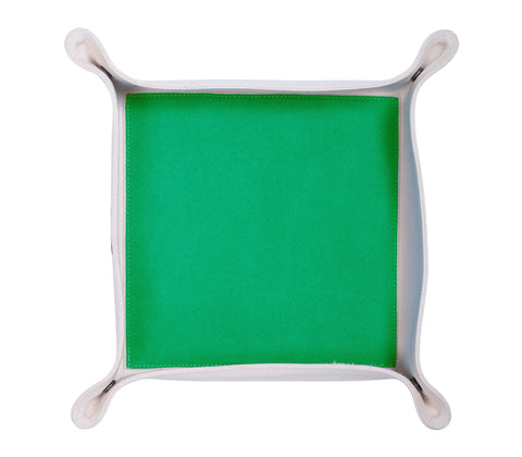 HA048: Color Block Valet Tray, Green