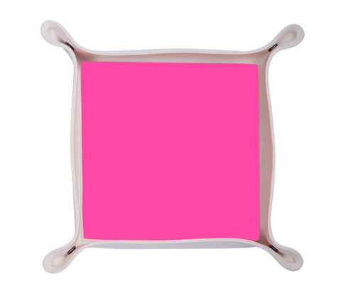 HA150: Color Block Valet Tray, Neon Pink