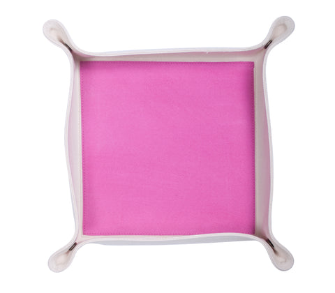 HA045: Color Block Valet Tray, Pink