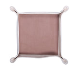 HA046: Color Block Valet Tray, Tan