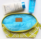 Small Make-up Pouch, Taj, Lime