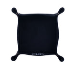 PL005: Square Plush Catch-All Tray, Black