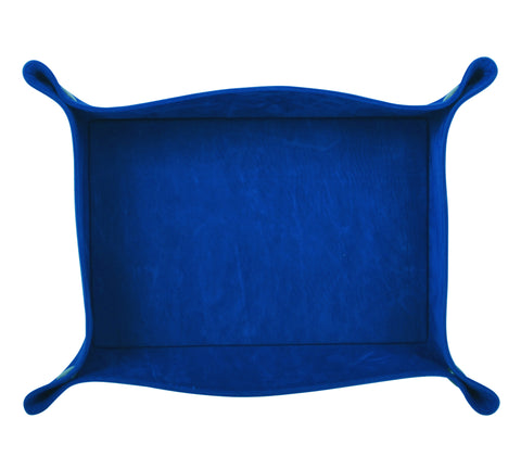PL030: Rectangle Plush Catch-All Tray, Royal Blue