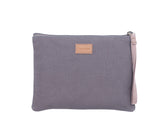 SNP021: Tower Wristlet, Gray