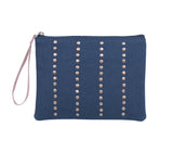 SNP025: Tower Wristlet, Navy
