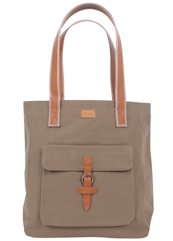 ST169: Mercer Tote, Olive (sturdy canvas work bag)