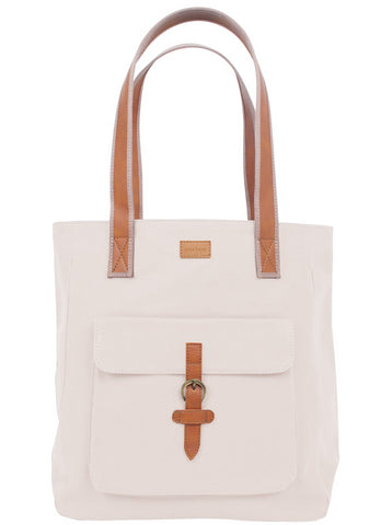 ST171: Mercer Tote, Linen (sturdy canvas work bag)