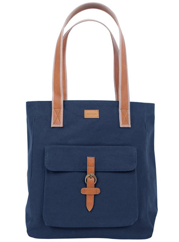 ST194: Mercer Tote, Navy (sturdy canvas work bag)