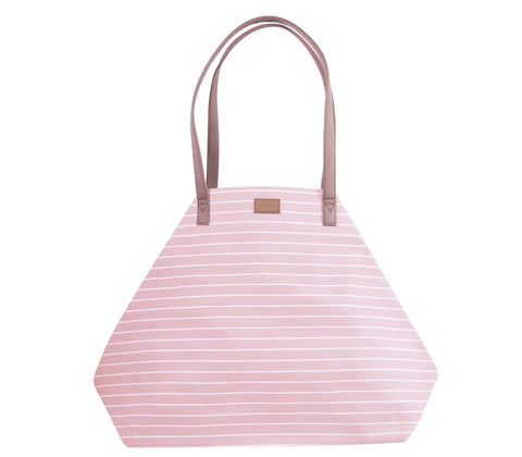 Stripes, Power Tote, Blush