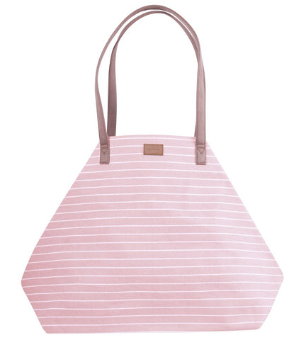 ST174: Stripe Power Tote, Blush