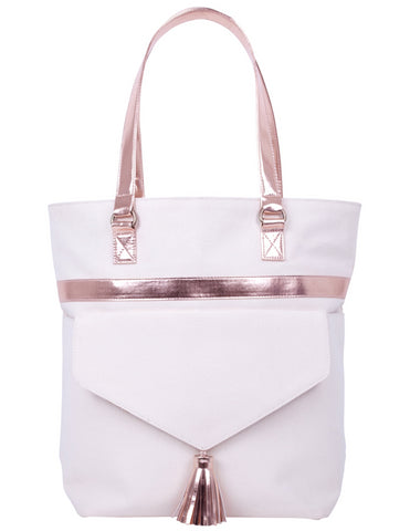 ST182: Fiona Tote, Rose Gold