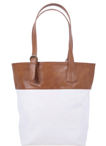 ST189: Allina Tote, Brown