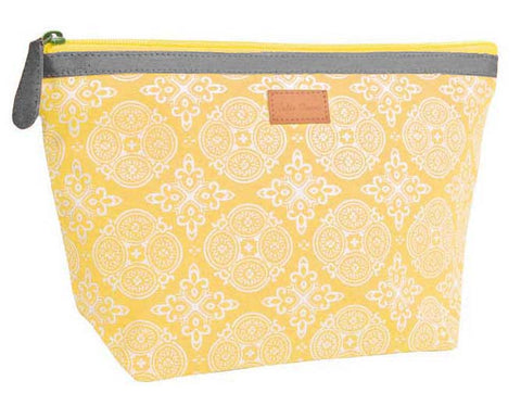 Travel Pouch, Indus, Yellow