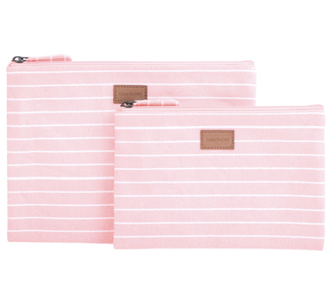 Stripes, Set of 2, Blush